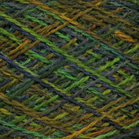 Swatch of Wool Jewels - Emerald Isle Colorway